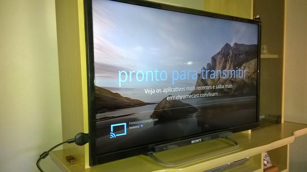 google chromecast configuracao tv 6