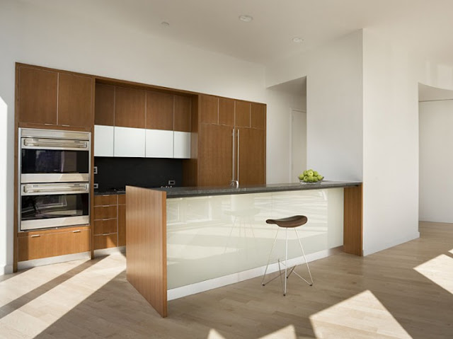 Photo of kitchen in one of the most beautiful penthouses