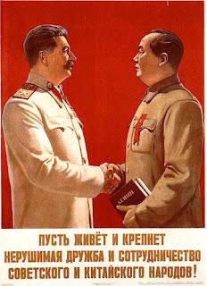 """""""Conversación entre Stalin y Mao Zedong en diciembre de 1949"""" - publicado en febrero de 2013 en el blog """"Crítica marxista-Leninista"""" - contiene link de descarga de los Discursos de Mao en la Conferencia de Moscú en 1957 Stalin+y+Mao+1"""