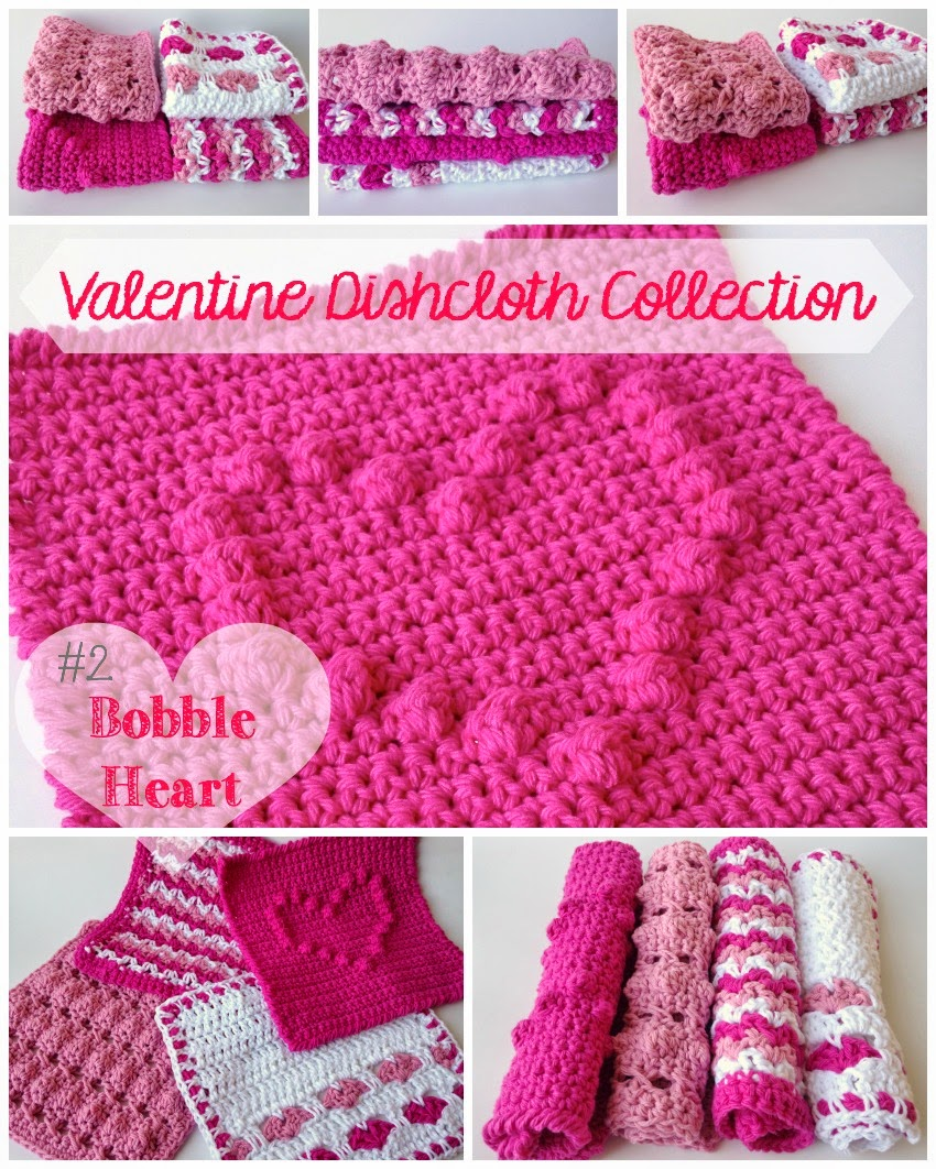 5 little monsters valentine dishcloth collection 2 bobble heart valentine dishcloth collection 2 bobble heart bankloansurffo Images