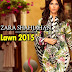 Zara Shahjahan Lawn 2015 Catalog | Spring-Summer Dress Collection