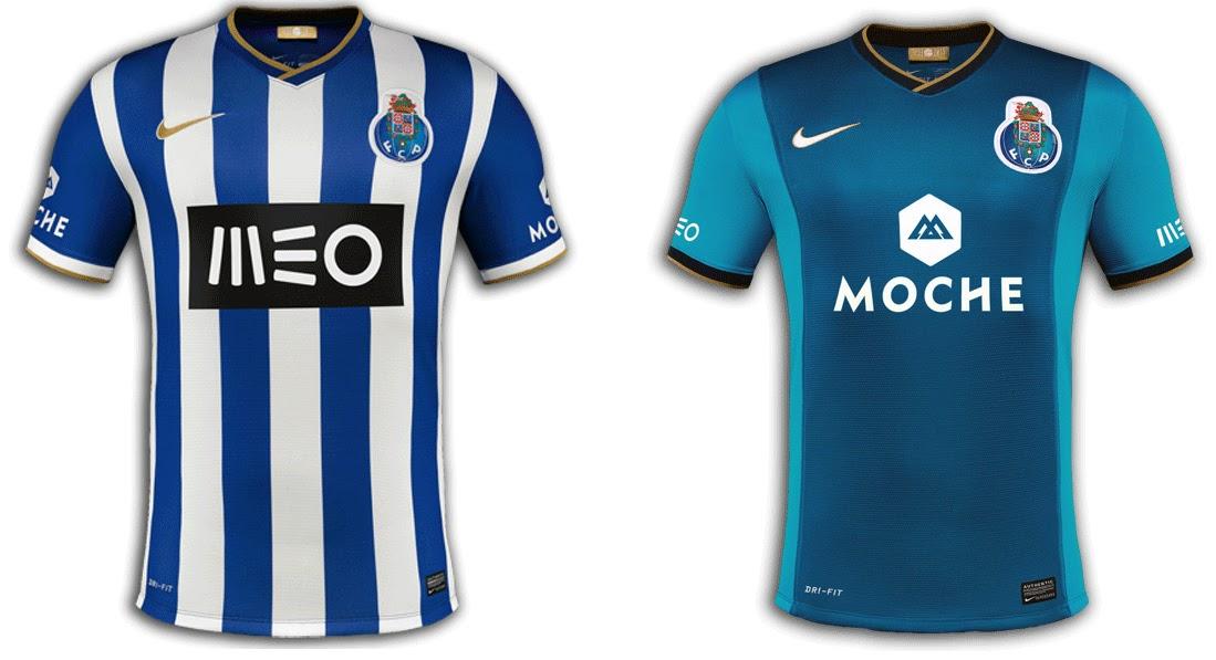 Para finalizar a apresentação das camisolas dos três grandes clubes de  futebol de Portugal 78334df2f5241
