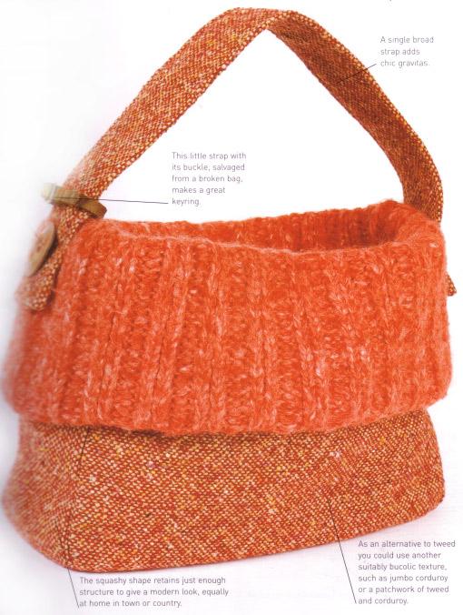 Polo Neck Sweater Bag