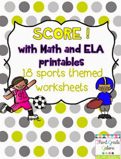 http://www.teacherspayteachers.com/Product/SCORE-with-Math-and-ELA-Printables-Sports-Themed-Worksheets-995598