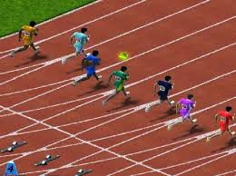 100 Metre Erkek Atletler
