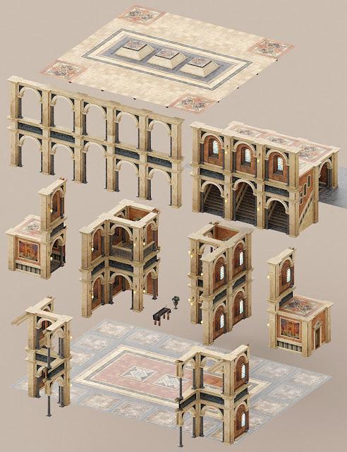 Borgia's Opulent Hall
