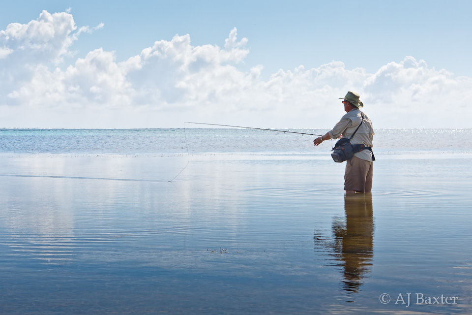 Fly Fishing in Belize, Ambergris Caye, Belize