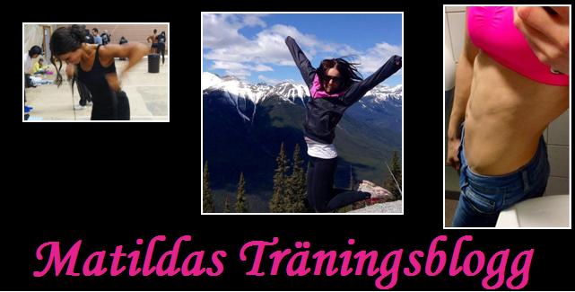 Matildas Träningsblogg