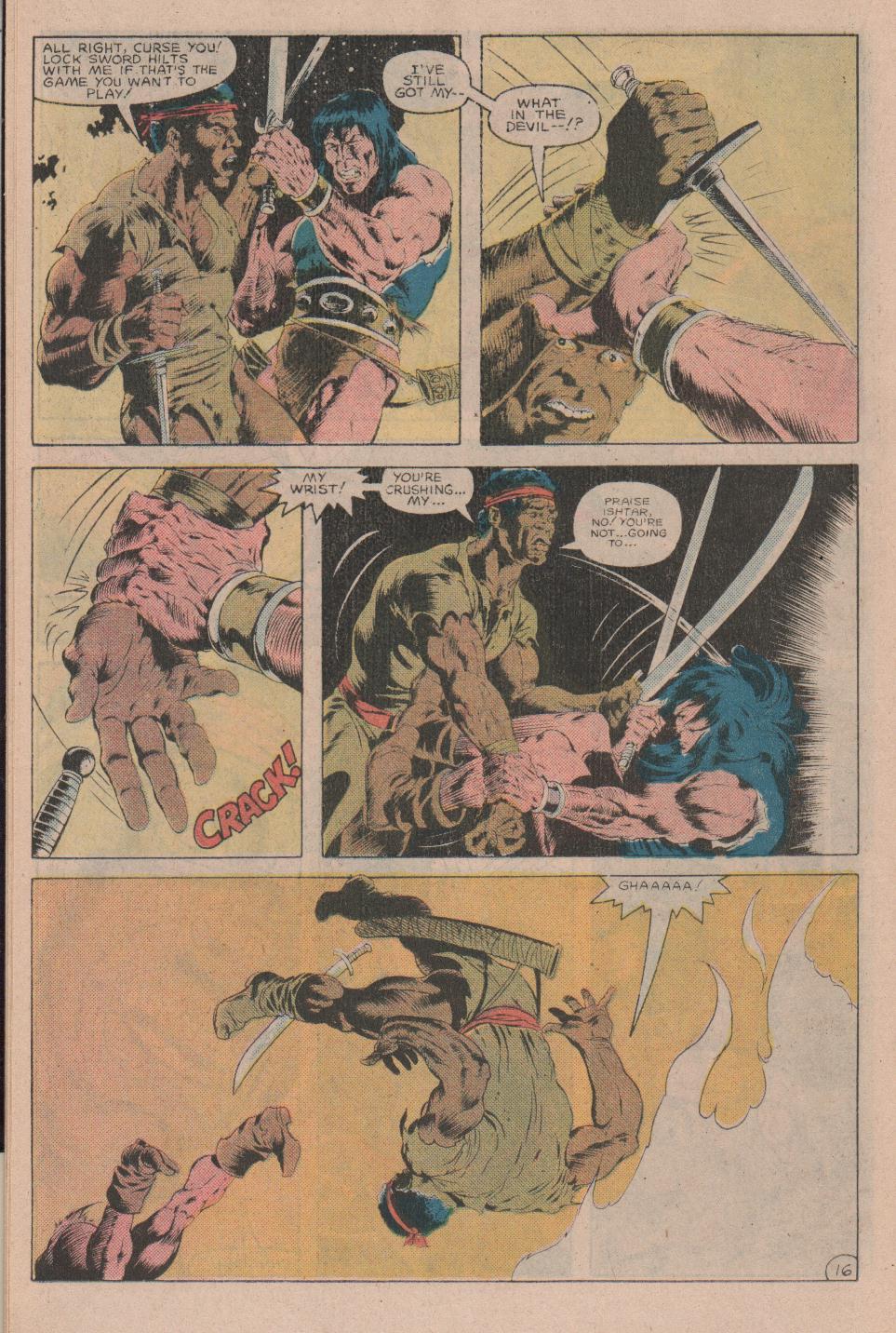 Conan the Barbarian (1970) Issue #160 #172 - English 17