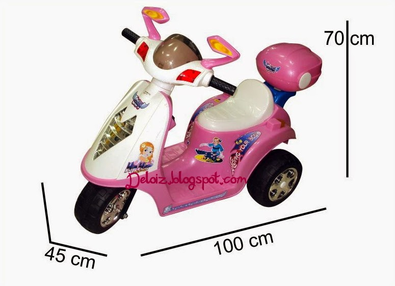 Foto Motor Aki Mainan Anak