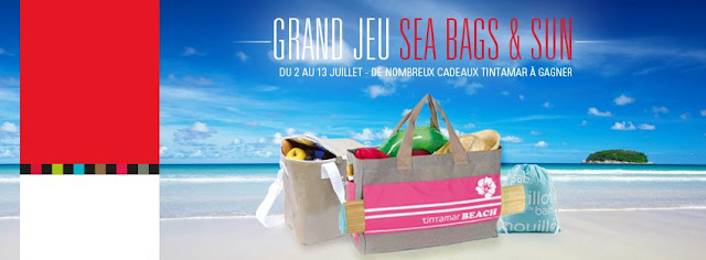 "Grand Jeu Tintamar ""Sea, Bags and Sun"""