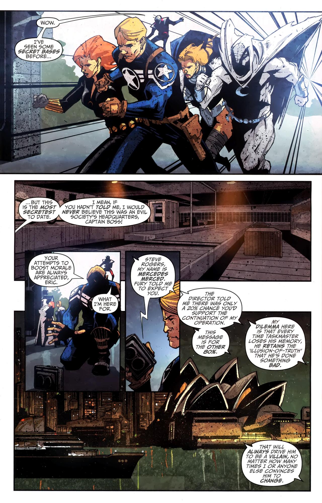 Read online Taskmaster (2010) comic -  Issue #4 - 21