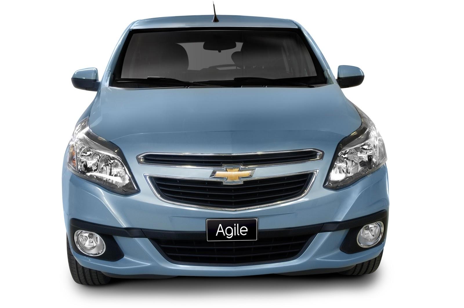 Chevrolet present el restyling del agile que luce un nuevo frontal y en la parte trasera cambios en el paragolpes y las pticas en el interior incorpora