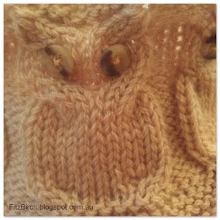 Owl Cowl Knitting Pattern : FitzBirch Crafts: Owl Cowl