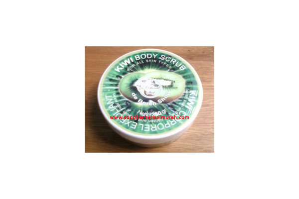 de Boreh Kiwi Fruit Body Scrub 250gr