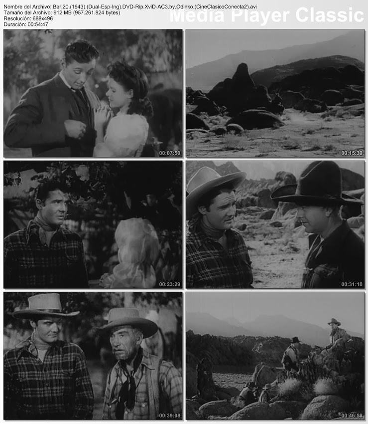 Imagenes de la película: Bar 20 | 1943