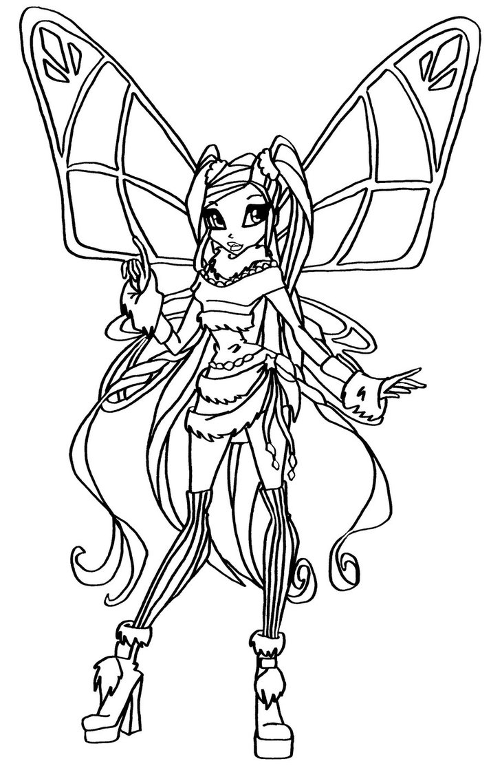 Princess stella coloring pages - Princess Stella Coloring Pages Pictures