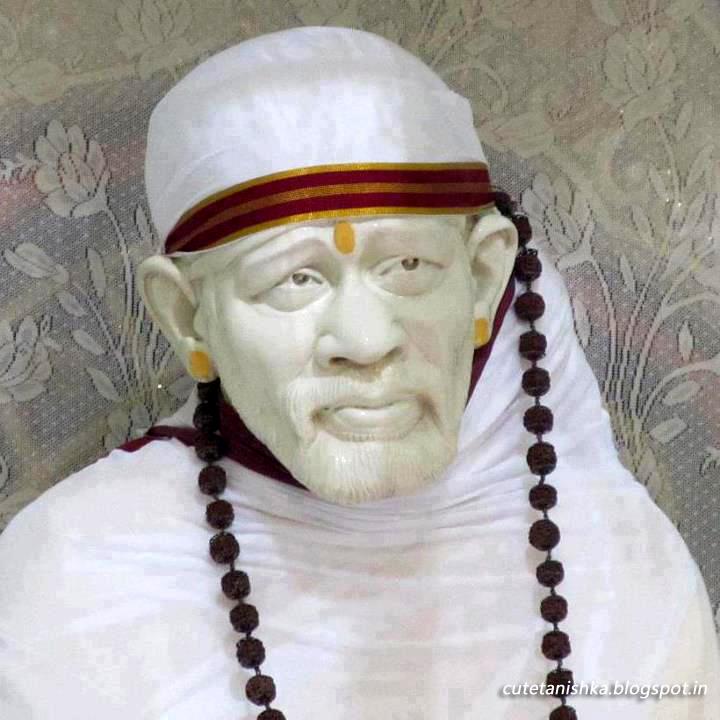 Sai Baba Statue Pic Shirdi Sai Baba Hd Image Cute Tanishka