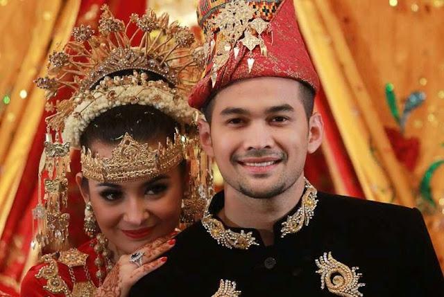 Teuku Wisnu dan Shireen Sungkar menikah