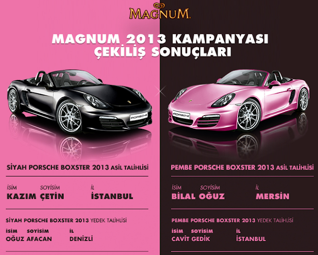 Porsche Kazananlar