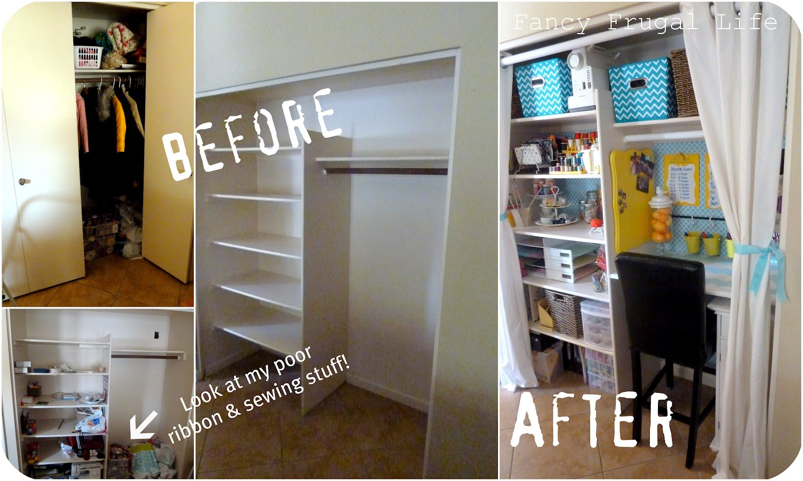craft inspiration the makeover inspired organization closet room