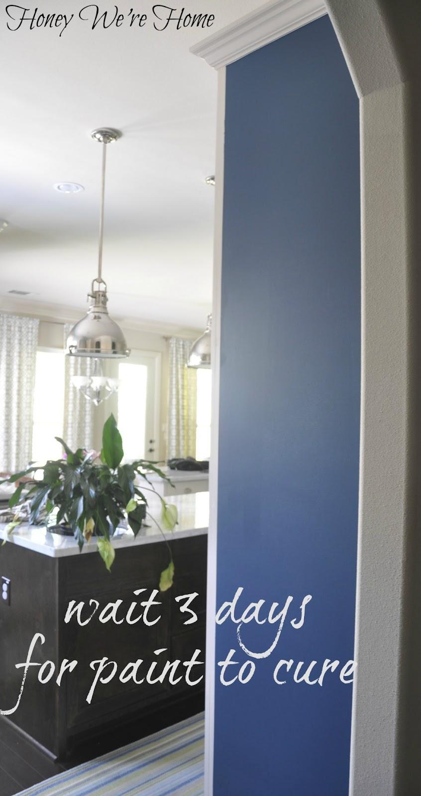 DIY (Kitchen Chalkboard Wall) | Honey We\'re Home