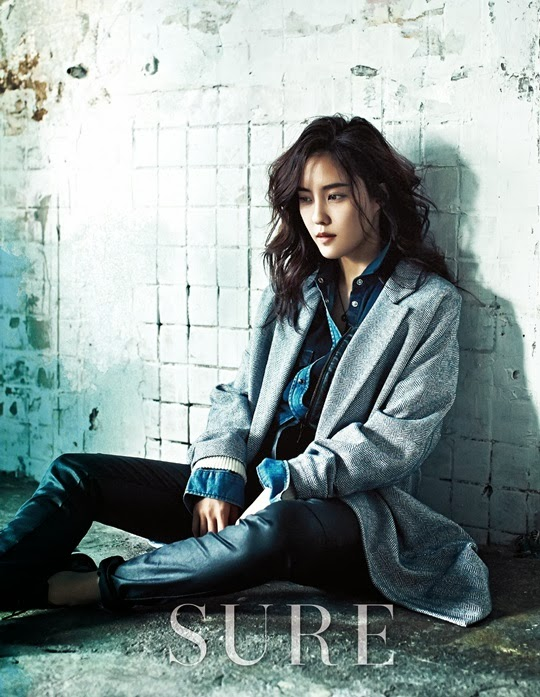 Hyomin T-ara - Sure Magazine February Issue 2014