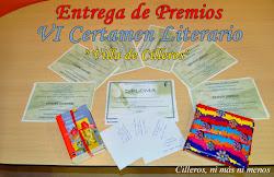PREMIOS CERTAMEN LITERARIO 2015