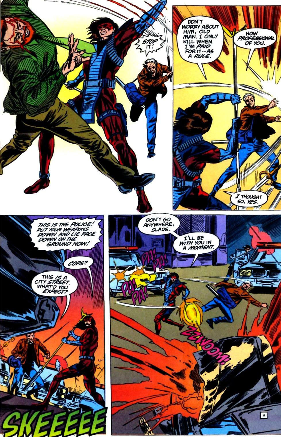 Deathstroke (1991) Issue #23 #28 - English 10
