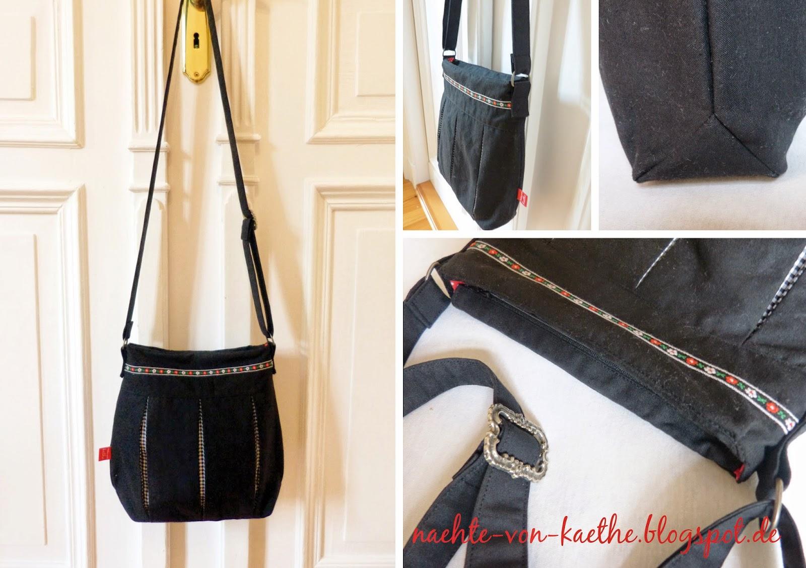 Pattydoo-Susi als Handtasche Detailansicht: Seitenansicht, Draufsicht und eingesetzter Boden