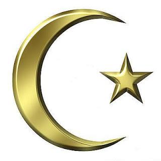 gambar bulan bintang masjid