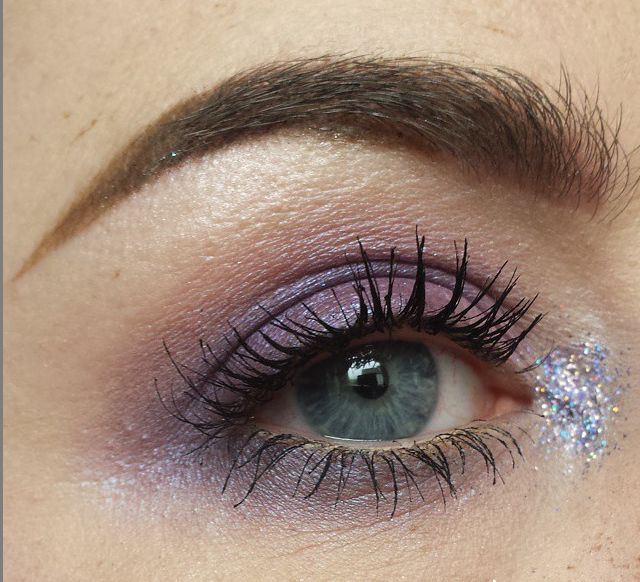 Purple galore makeup