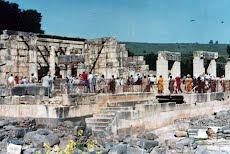 <strong>Vista Geral Sinagoga Cafarnaum</strong>