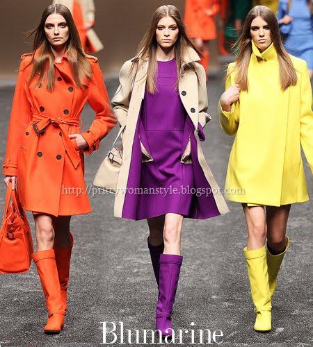Blumarine колекция къси палта