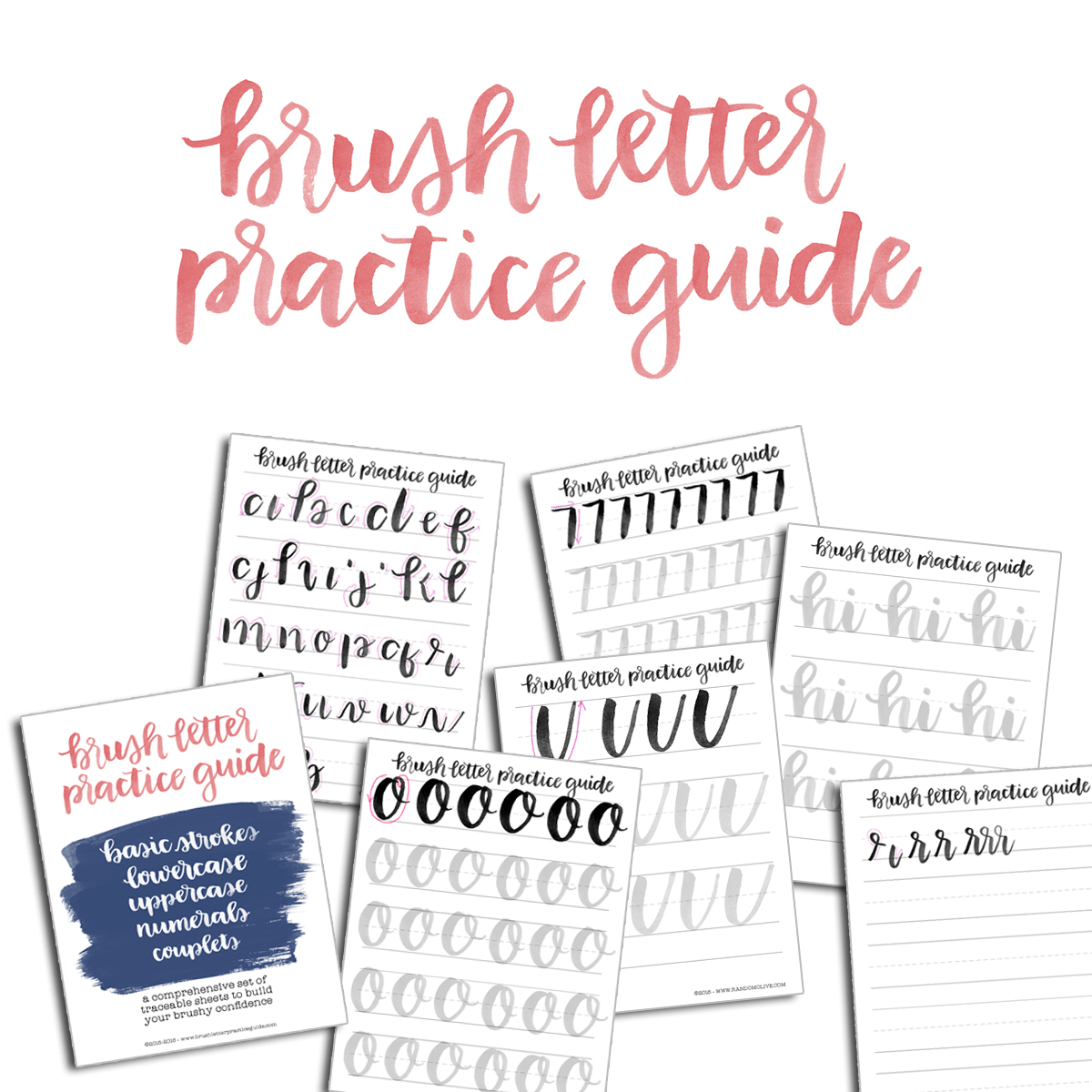 BRUSH LETTERING WITH OLIVIA