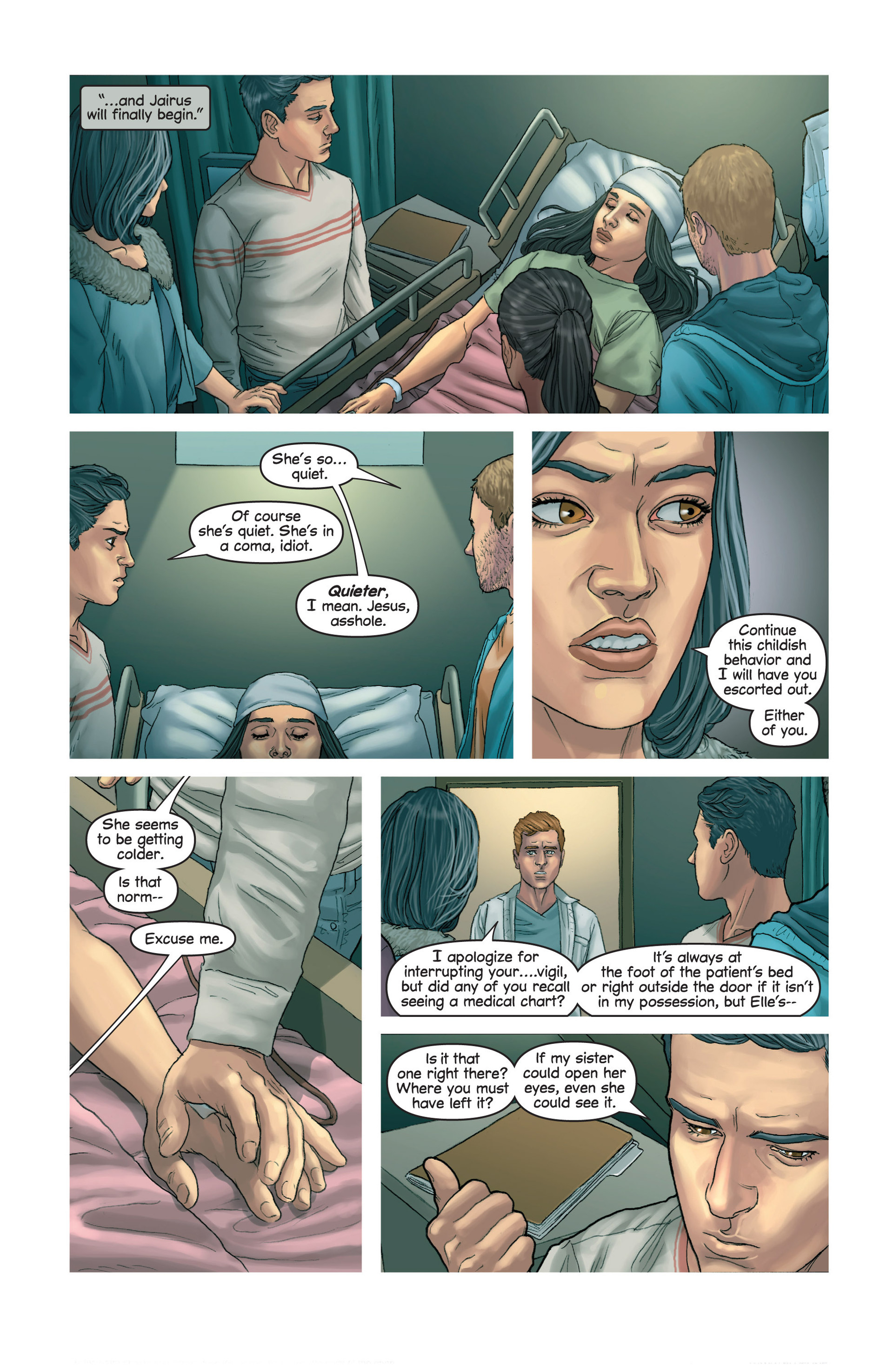 Read online Mind The Gap comic -  Issue #14 - 15