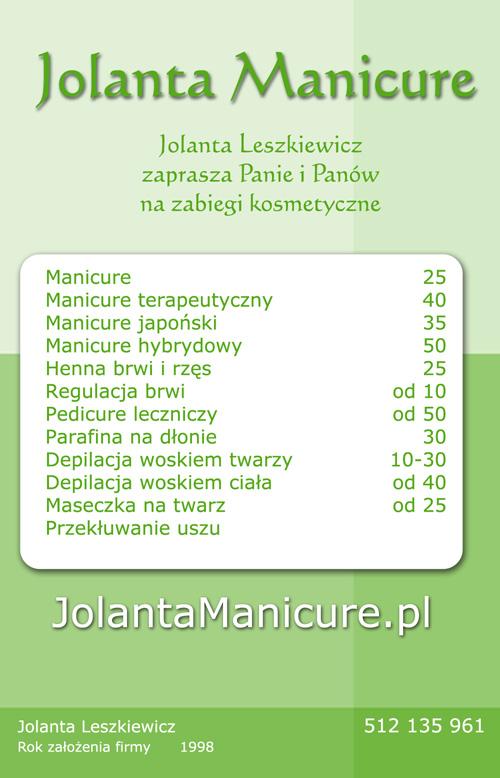 Jolanta Manicure