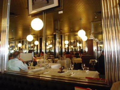Paris brasserie lutetia art dec no 6 me memoires gourmandes - Brasserie lutetia paris ...