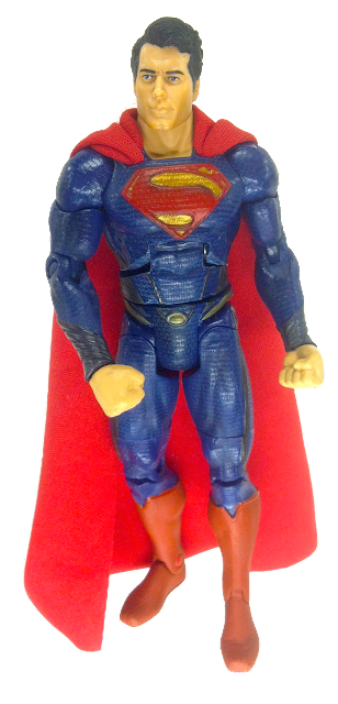 Man of Steel | GeekSummit's Custom Ab Crunch Superman Movie Masters Action Figure