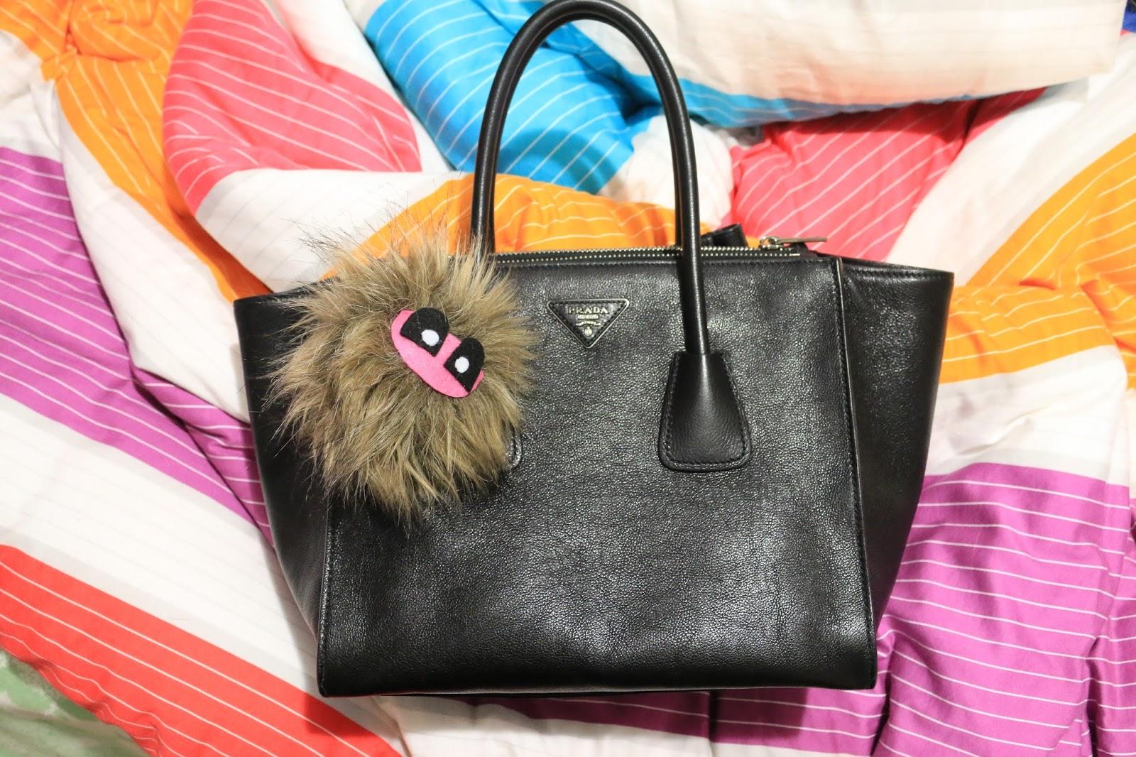 prada black nylon messenger bag - don't be like the rest of them, darling: Prada Glace Calf Twin ...