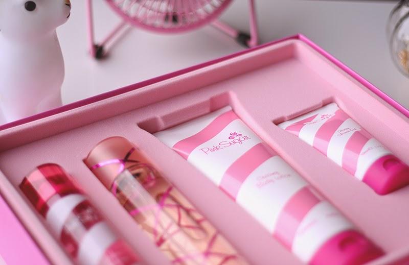 pink sugar coffret