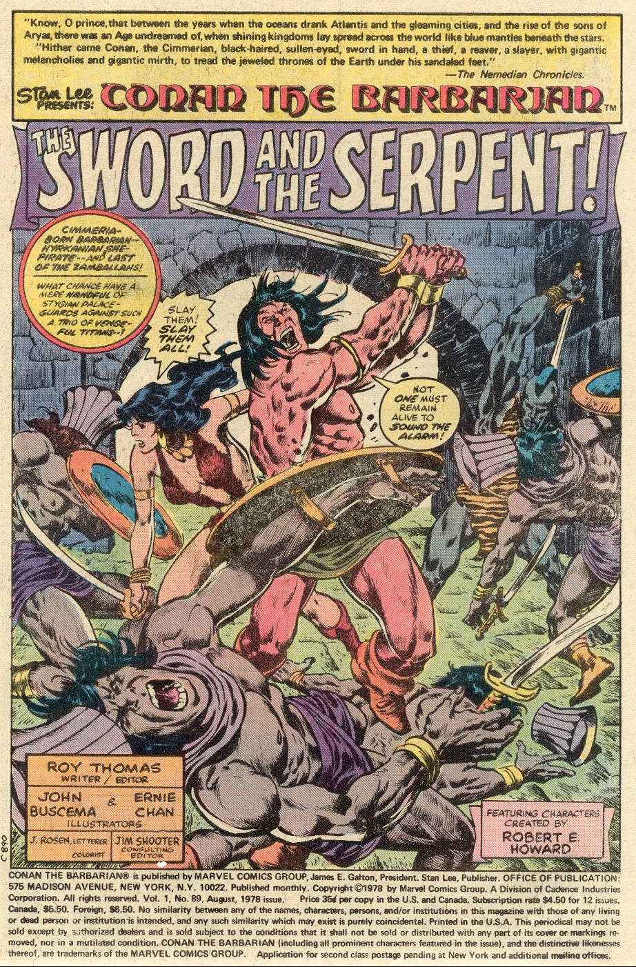 Conan the Barbarian (1970) Issue #89 #101 - English 2