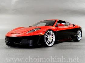 Xe mô hình tĩnh Ferrari Red-Black Rare-Collection hiệu Hot Wheels Elite tỉ lệ 1:18