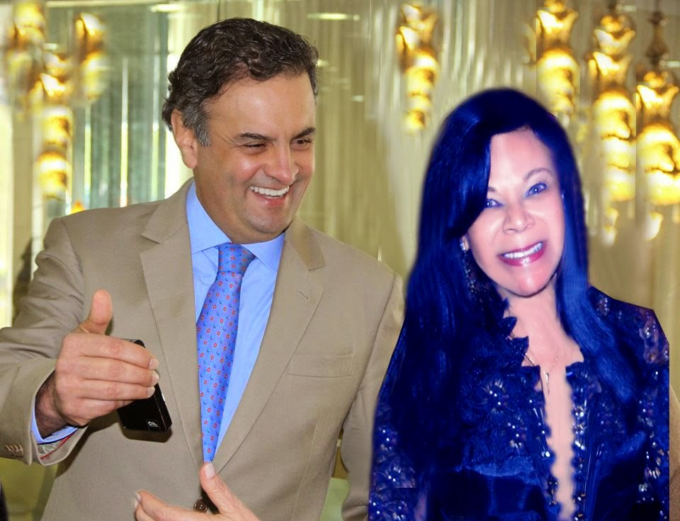 Aécio Neves e a Colunista
