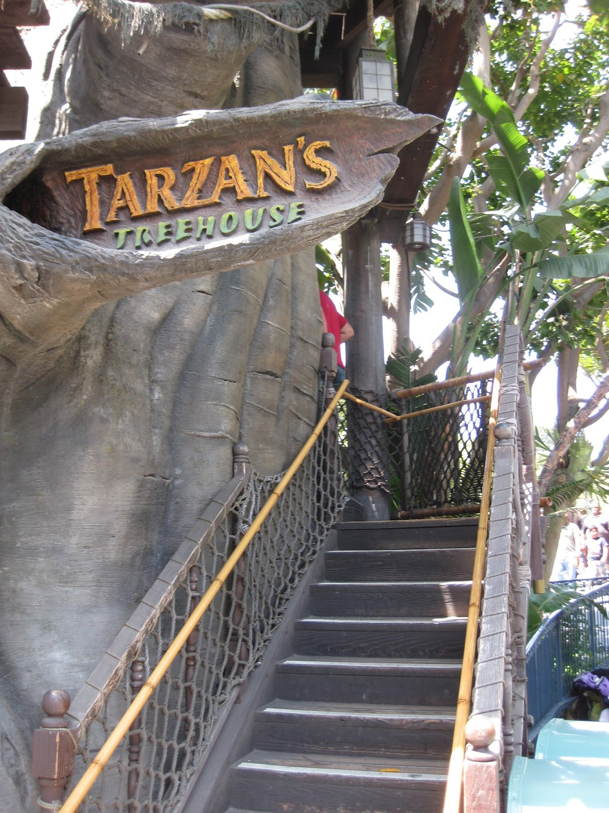 tarzan u0026 39 s treehouse at disneyland