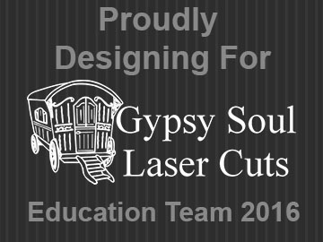 Gypsy Soul Laser Cuts Design Team Member