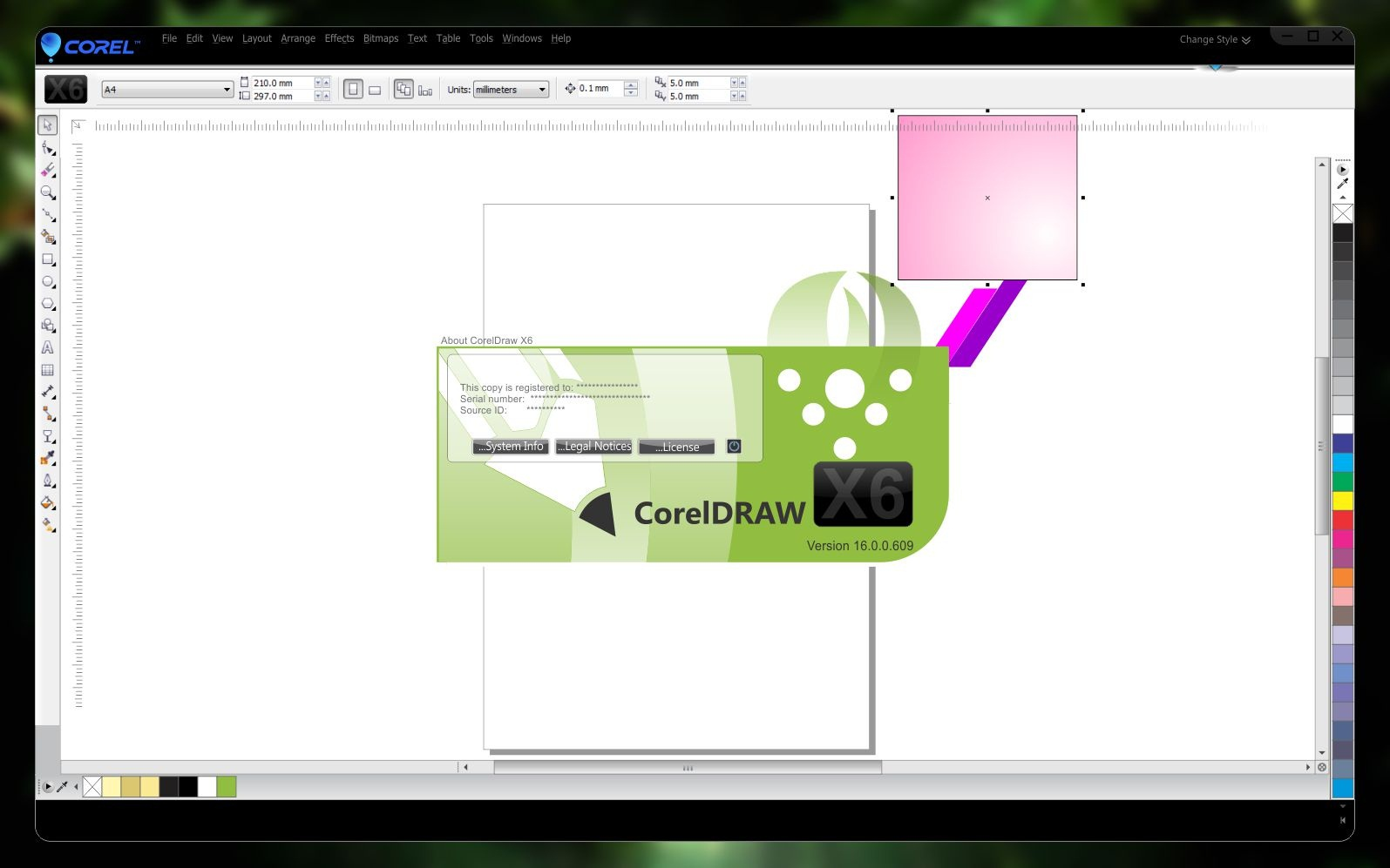 how to install corel draw x6 with keygen