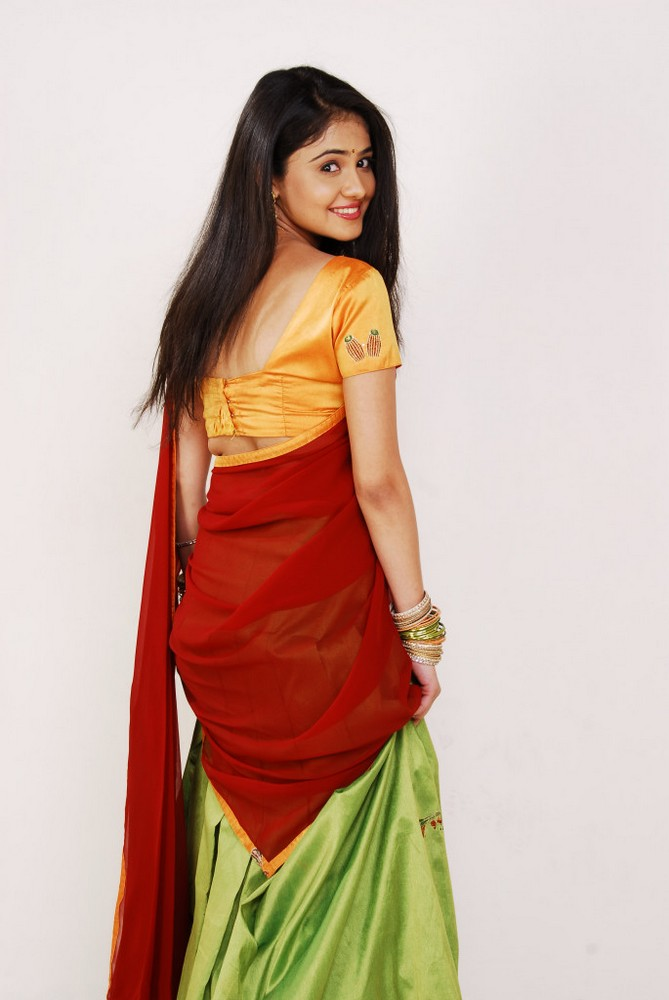 Rachana Malhotra Photos in Half Saree