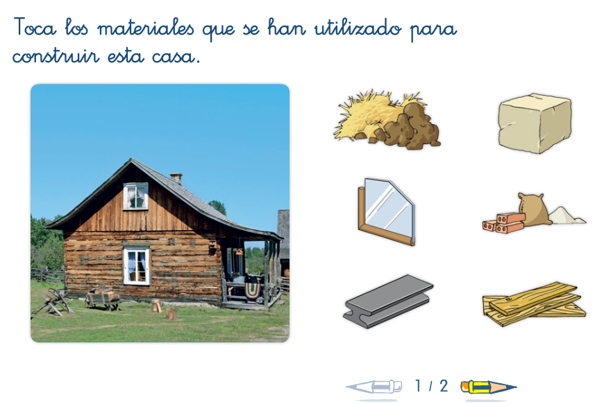 Blogs de ana bastida 1 y 2 la casa y sus dependencias - Materiales para hacer una pared ...