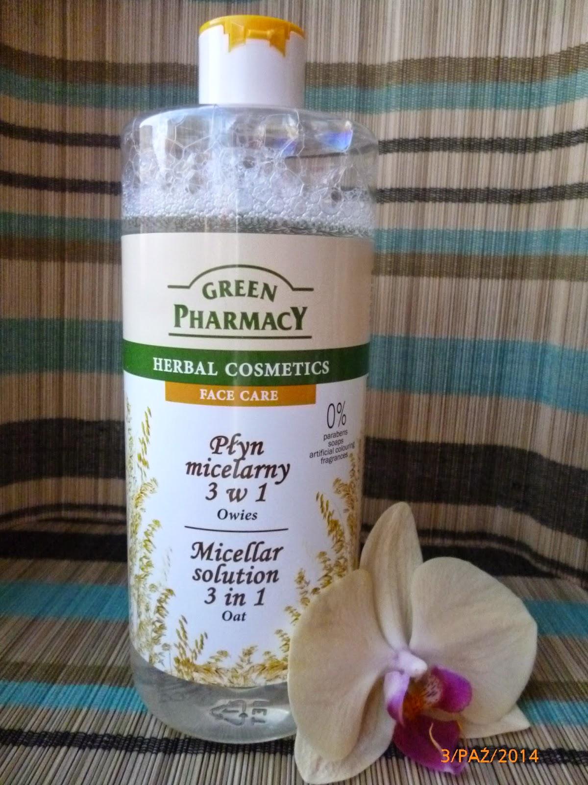 Genialne oczyszczanie twarzy z Green Pharmacy